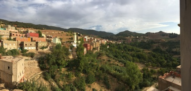 The view from my host families apartment of Ain Leuh